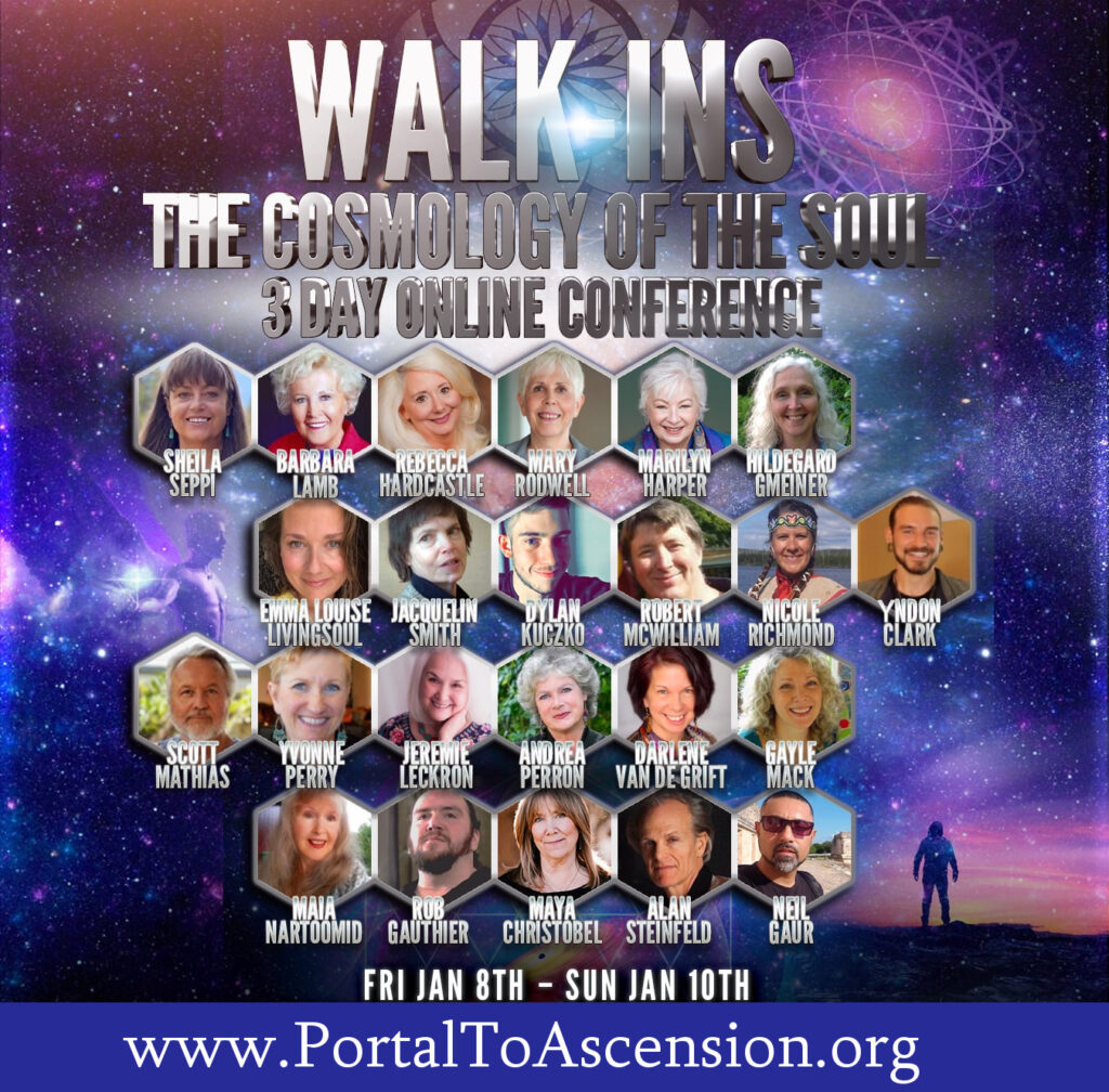 3 Day Online Conference: WALK-INS - The Cosmology of The Soul - Featuring Jacquelin Smith and other guest speakers